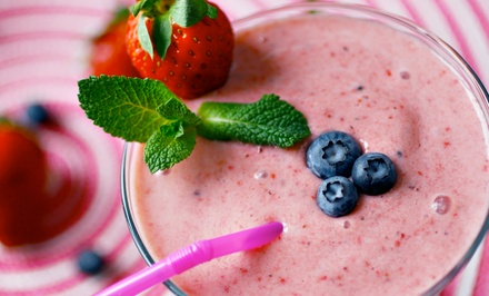Three or Five Groupons, Each Good for One Medium Smoothie at Yogurtz (Up to 43% Off)