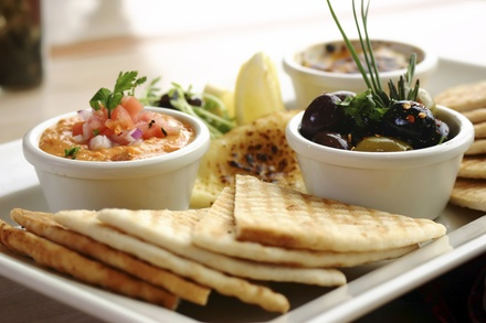 Small Plates and Drinks at The Casablanca Lounge (Up to 50% Off). Two Options Available.