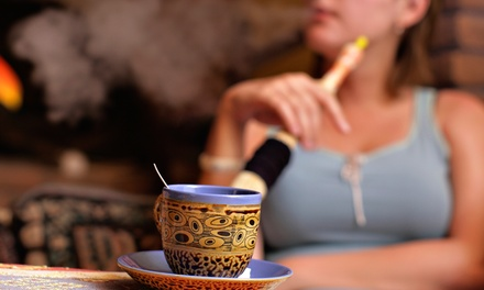 $20 for a Hookah Package for Two with Desserts and Beverages at Ali Baba Cafe & Hookah Lounge ($36 Value)