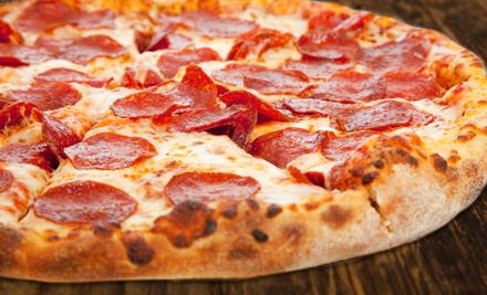 Hand-Tossed Pizza for Two or Four or More at Angelo's Picnic Pizza (45% Off)