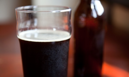 Beer-Tasting Package for Two, or One Growler Plus a Fill at Big Barn Brewing Company (Up to 41% Off)