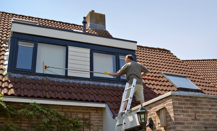 Window Pane Cleaning, Plus 15-Point Roof Inspection from Reliance Exterior Services (Up to 87% Off)