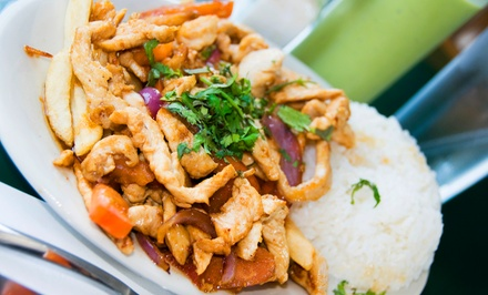 Latin American Cuisine at Carlito's Chicken (Up to 37% Off). Two Options Available.