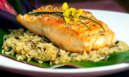 $19 for Two-Course Seafood Dinner for Two at Boneheads ($31.96 Value)