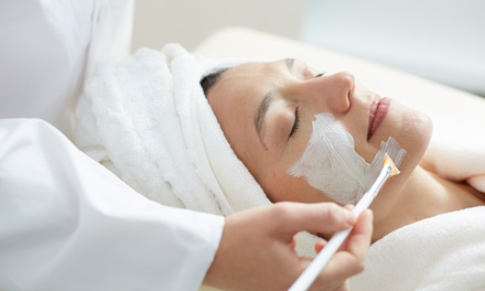 $47 for Signature Facelift Peel with Arm and Hand Massage at Soothing Touch Massage ($95Value)