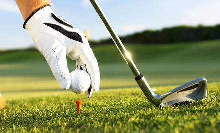 18-Hole Round of Golf with Cart and Range Balls for One or Two at Chehalem Glenn Golf Course (Up to 52% Off)