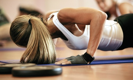 $34 for One Month of Drop-In Fitness Classes at The Sweatshop ($200 Value)