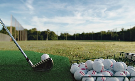 Driving-Range Practice with Two or Five Baskets of Range Balls at Long Beach Golf Learning Center (Up to 55% Off)