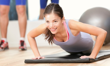 Four or Eight 45-Minute Personal Training Sessions at Fitness Works (Up to 56% Off)