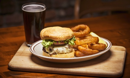 Food and Beer at C. Wiesler's Saloon & Eatery (Up to 50% Off). Two Options Available.