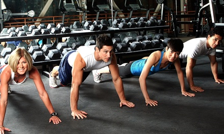 One Month of Boot Camp or Ten Online-Training Sessions at Xtreme Fitness Boot Camp (Up to 68% Off)