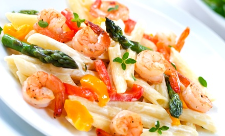 Italian Cuisine for Dine-In or Takeout at Miller Place Pastaria (Up to 46% Off). Three Options Available.