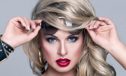 $39 for Haircut Package with Colour Options at Volu-Me Beauty Bar Spa ($160 Value)