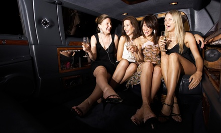 Bar Crawl in Limo with Four Club Visits for One or Two from MaxVegas Club Crawls (Up to 41% Off)