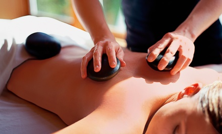 Hot-Stone Massage, MediCupping Massage, or Infrared Sauna Session at Bardos Massage and Wellness (Up to 51% Off)