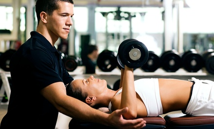Five or Eight Personal-Training Sessions from VTrainers (Up to 74% Off)