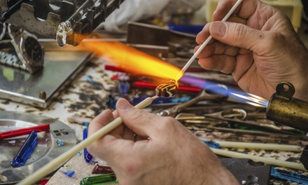Three-Hour Glassblowing Class for One or Two at Lincoln Hot Glass (Up to 54% Off)