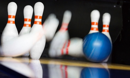 Bowling and Pizza for Two or Four at Manhattan Lanes (Up to 48% Off)