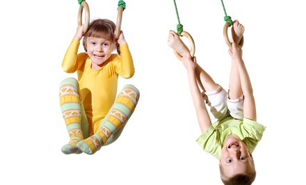 $45 for One Month of Gymnastics Classes with Unlimited Open Gym at Tumble Buddies ($95 Value)