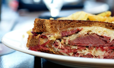 Lunch with Hot Subs, Fries, and Drinks at Larry's Italian Deli (Up to 41% Off). Three Options Available.