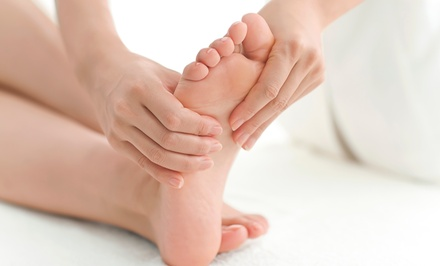 Massage and Foot Reflexology at Sole Therapy (Up to 42% Off). Two Options Available.