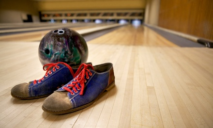 $30 for Two Hours of Bowling with Shoes for Up to Six People & a 16-Inch Pizza at Ranch Bowl ($72.49 Value)