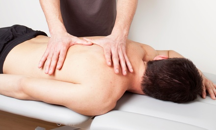$65 for a Massage and Chiropractic Package at Chiropractic Wellness Center ($250 Value)