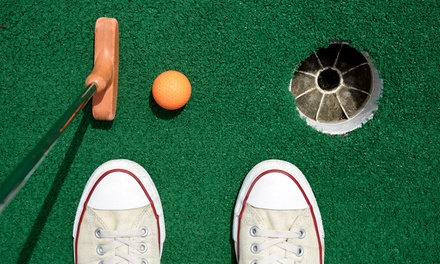 Mini Golf, Ice Cream, and Soda for Two or Four at Indian Trails Miniature Golf (Up to 50% Off)