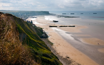 Groupon Deal: ✈ 6-Day D-Day Story Tour with Airfare from Great Value Vacations. Price/Person Based on Double Occupancy.
