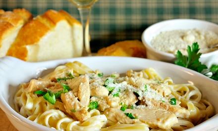 $17 for $30 Worth of Italian Dinner for Two at Ecco Domani Italian Restaurant