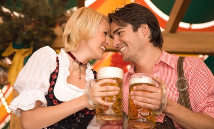 General Admission for 2 or 4 or VIP Admission for 2 to Kirkland Oktoberfest on September 26-28 (Up to 52% Off)