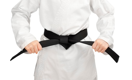One Month of Taekwondo Classes with Uniform for One or Two at Evans ATA Black Belt Academy (Up to 79% Off)