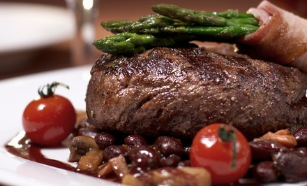 Bistro Cuisine and Ribs for Two or Four at Whisky's Restaurant (Up to 46% Off)