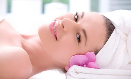 Microdermabrasion Treatment and Facial or Peel with Cooling Mask at Solaris Laser & Skin Care (Up to 55% Off)