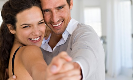$17 for a Couples Valentine's Day Dance Class at Blue Suede Ballroom($25 Value)