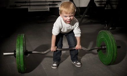 One Month of Classes for One or Two Children with One-Year Family Membership at The Little Gym (Up to 66% Off)