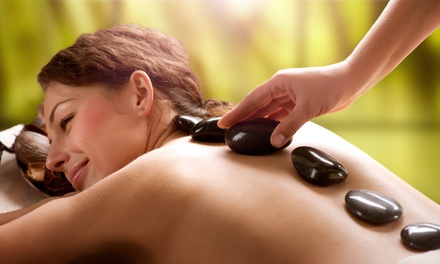 90-Minute Hot-Stone Massage with Aromatherapy at Our Hands For Healing ( 59% Off)