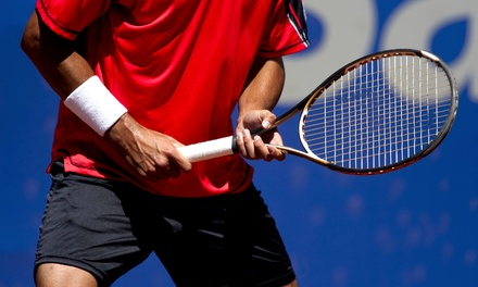 Three Private Tennis Lessons or a Ball-Machine Rental at Tennis Tutor at Tennis Champs (Up to 60% Off)