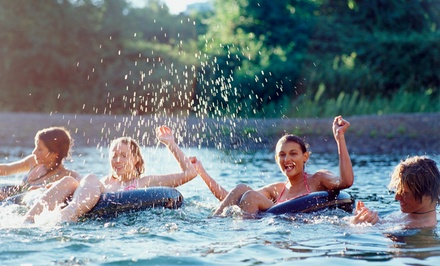 One- or Four-Mile River Tubing Trip for Two or Four from Carried Away Recreation (45% Off)