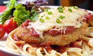 Italian Dinner For Two Or Four At La Fourno Ristorante Trattoria (up To 49% Off)