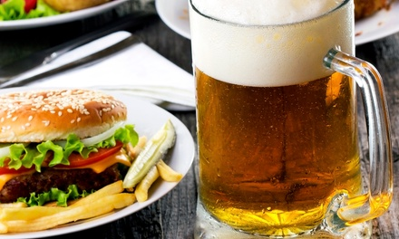 Casual American Fare at The Brickyard Tavern (Up to 47%Off)