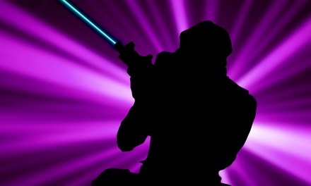 $15 for Four Games of Laser Tag at The Lost City ($28 Value)