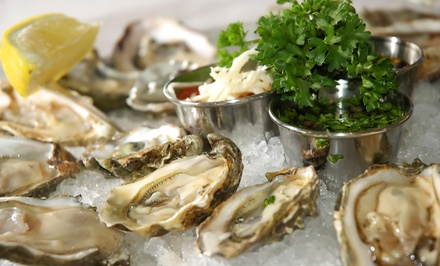 $18 for $30 Worth of Oysters and Cajun Food for Dinner for Two or More at Shuck Dat Oyster Bar