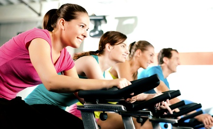 10 Cycling, Interval-Training, or Barre Classes or One Month of Classes at Redkore Fitness (Up to 73% Off)