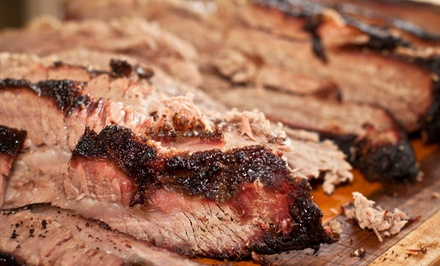 $18 for Two Groupons, Each Good for $15 Worth of Barbecue at Double D's BBQ ($30 Value)