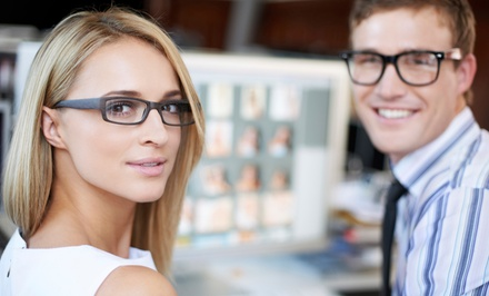 $59 for an Eye Exam and $175 Credit Toward Prescription Eyeglasses at Visionary Eyeworks ($260 Value)