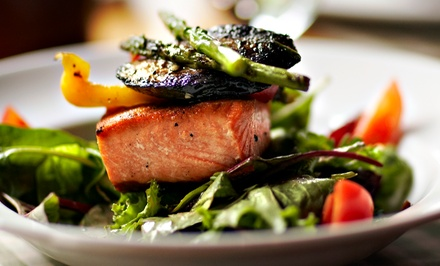 $60 for a Prix-Fixe Asian-American Dinner for Two at Aqua (Up to $94 Value)
