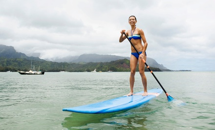 Standup Paddleboarding for One or Two Including Lesson and Equipment from Extreme Windsurfing (Up to 51% Off)
