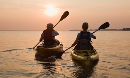 Two-Hour Woolverton Trails Kayak Tour for Two or Four from Seashore Eco Tours (Up to 52% Off)