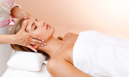 One-Hour Basic Facial with Optional 30-Minute Massage at QR Serenity Spa (Up to 68% Off)